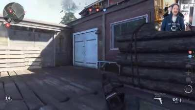 During the week I stream CoD and my wife put together this clip and it turned out perfectly