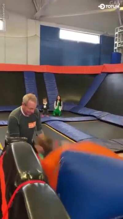 WCGW playing with grandpa