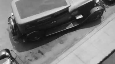 1932 Video Shows A Car With