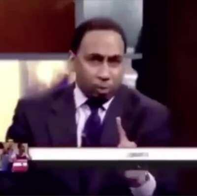 Not sure if this has been posted yet, but here's Stephen A. Smith.