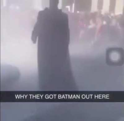 The world will always need a Batman