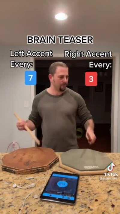 Skill exercise for drummers 🥁