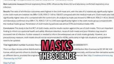 ABSOLUTE PROOF: Wearing a mask is for placebo only. They are not effective at all against preventing the spread of Coronavirus, and no, they don't help even a little bit, ACCORDING TO LEADING SCIENTISTS. STOP SPREADING LIES. Democrats and Liberals only us