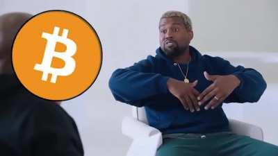 Kanye West Becomes THE FIRST potential United States presidential nominee to understand that #Bitcoin is money.