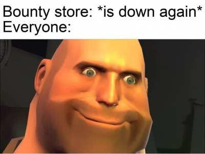 It's amazing that after taking the store down so many times they still can't keep it up. v