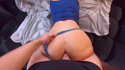 Homemade Porn - Horny Babe Gets Her Big Ass Fucked In Doggystyle
