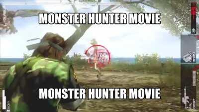 Leaked footage of the Monster Hunter Movie