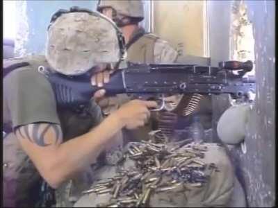 Fallujah 2004- Machine Gun room