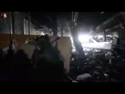 Something a bit different: Last Stand of the Cyborgs at Donetsk Airport.