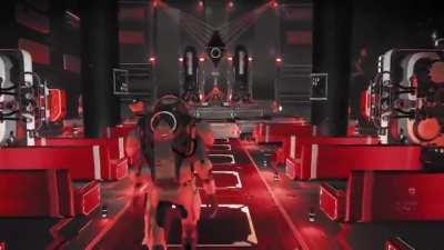 Sith Acolyte Temple on a Crimson world