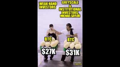 What we just witnessed in the Bitcoin dip explained in Meme