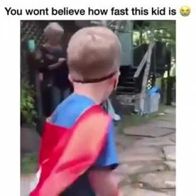 He is... the FLASH!