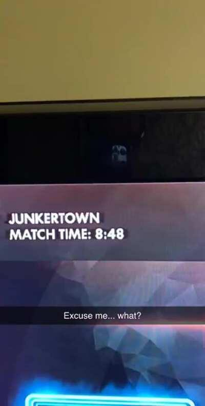 My gf is the Master of objective time