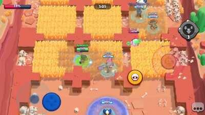 Crow's Slowing Toxin gadget didn't activate when I poisoned Jacky and pressed the gadget button. Please upvote, Supercell needs to see this.