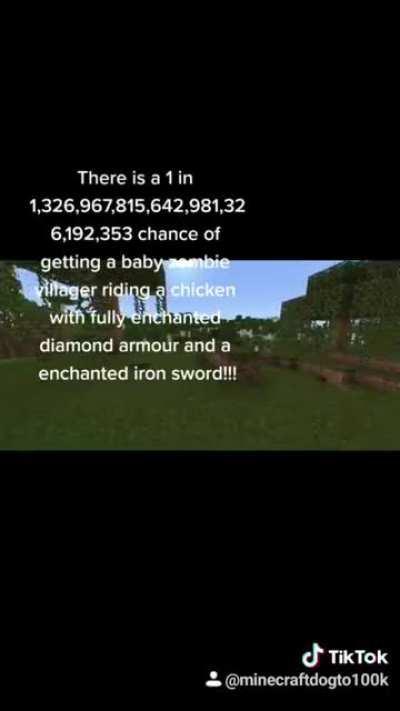 Minecraft Probability!
