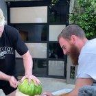 Watermelon goes boom