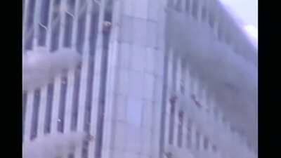 Some lesser seen 9/11 footage: eye witness account / firefighter reactions / victims trapped at & above impact zone of north tower / south tower collapse