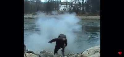 Illegal dynamite fishing backfires