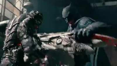OTHER: Batfleck absolutely demolishing a parademon, and then he gets tossed around like a ragdoll.