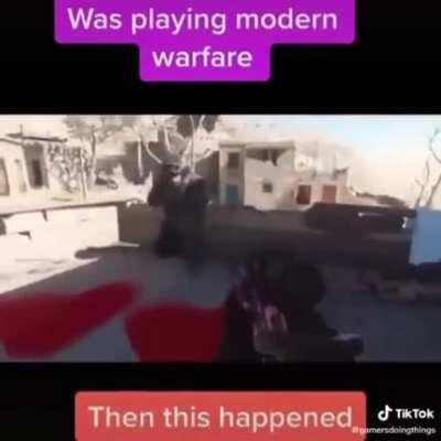 Modern warfare is fire