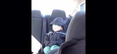 nothing wrong with a lil wholesome kid in the backseat