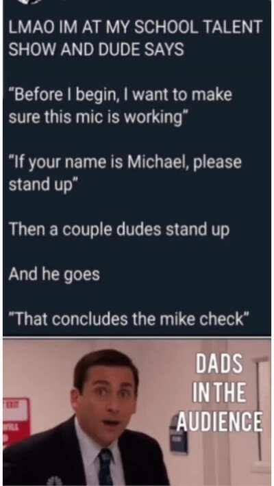 Dudes gonna make a good dad