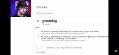What's grooming?