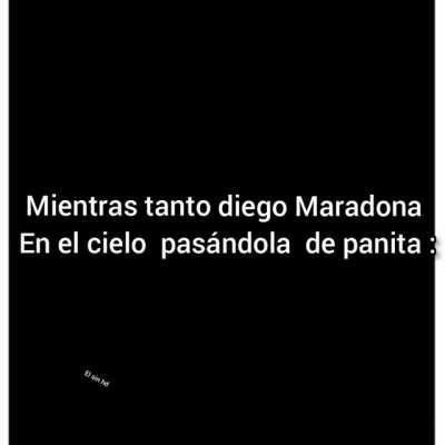 F , Maradona