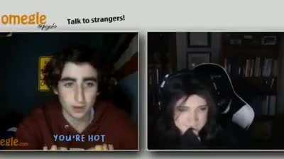 The kid never open omegle the next day