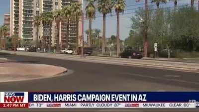 Absolutely No One Shows For... Biden Harris First Big Post Debate Rally... In Arizona