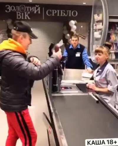 Russian magic trick or how to steal a sausage