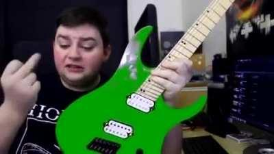 Green guitars are the best