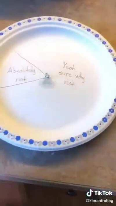 those plates are mean