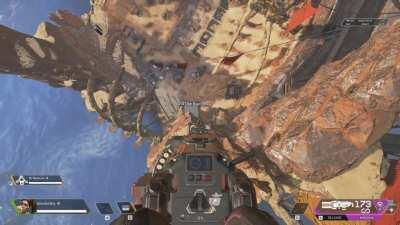 I somehow got on top of the sky box using the rampart crypto turret glitch lmaoooo. There's a whole new world here xD (tutorial)