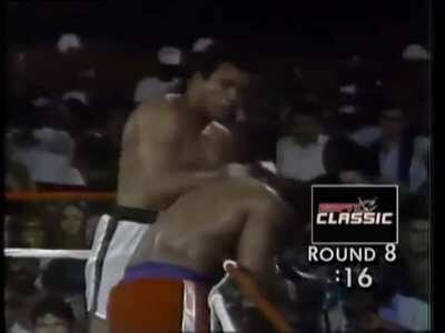 On this date in (October 30th) 1974, Muhammad Ali knocked out George Foreman in the eighth round of The Rumble in the Jungle