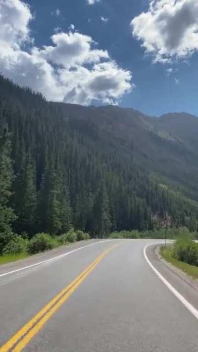 Million Dollar Hwy in Colorado