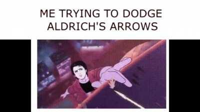 I love magic arrows and running