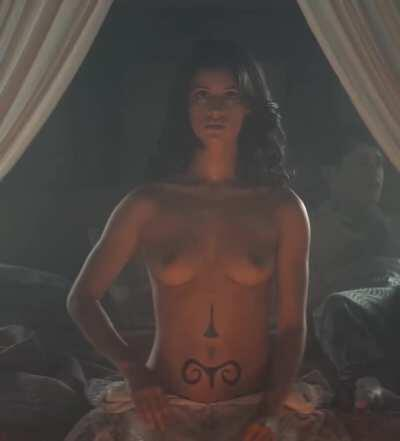 Rewatching the witcher, so gonna have to stroke to Anya chalotra tits