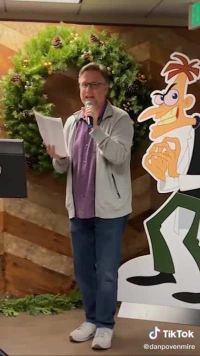 Dr. Doofenshmirtz (Dan Povenmire) sings Billie Eilish's Bad Guy