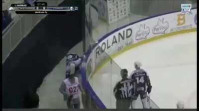 I took the video of a player celly'ing through a pane of glass and put Stone Cold Steve Austin's theme on it