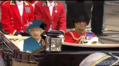 What you can do when the queen starts wears green in public