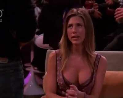 Jennifer Aniston sexy outfit in Friends