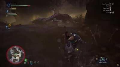 A master of Monster Hunter