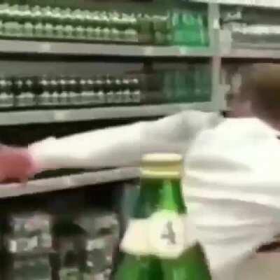 bottle cap trick