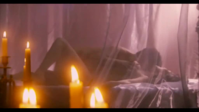 Aya Sugimoto's magnificent breasts groped from the movie Blood