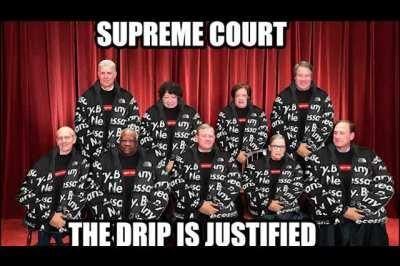 The Supreme x North Face Court is in session