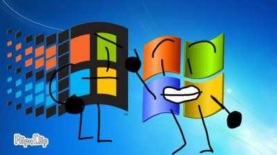 Poorly Made animation of Windows