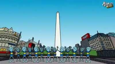 Rick y Morty version Argentina
