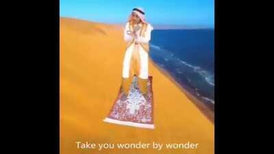 Least Aladdin looking person in Jordan