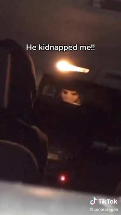 Kidnapped by the IRA ?